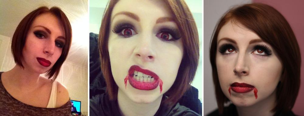 Vampire Halloween Cropped