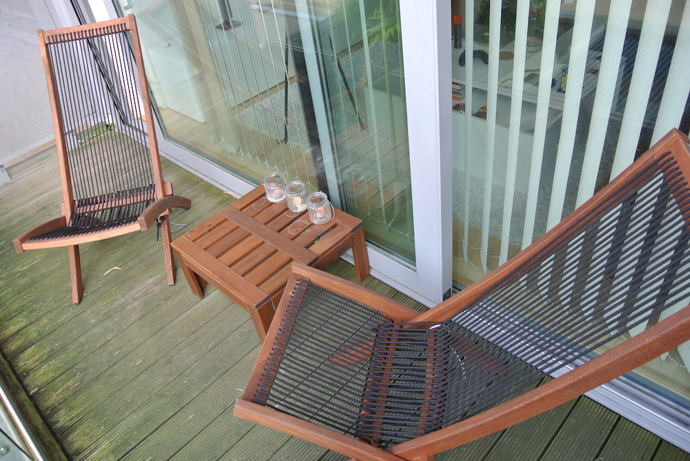 over i wanted to do a little mention of our new garden furniture