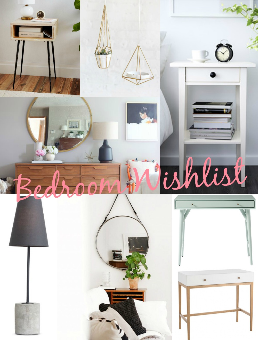 bedroom wishlist text